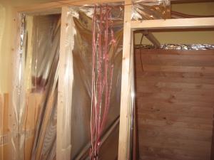 Szauna építés otthon